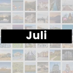 Reisemonat Juli