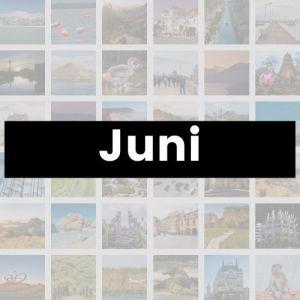 Reisemonat Juni
