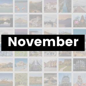 Reisemonat November