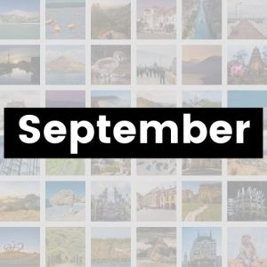 Reisemonat September