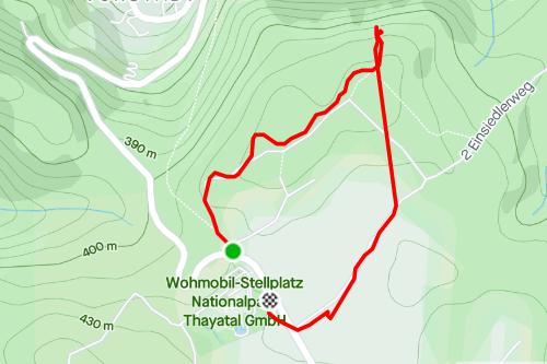 Spaziergang Hennerweg, einfache Wanderung