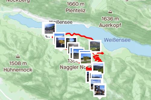 Nagggler Alm + Kohlröslhütte, mittelschwere Wanderung