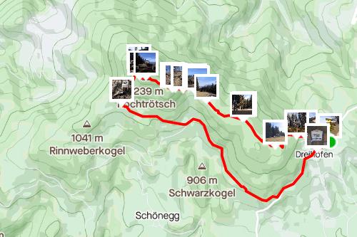 R8 Trötsch Rundwanderweg, mittelschwere Wanderung