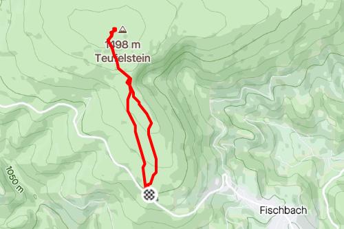 Teufelstein-Runde Fischbacher Alpen, einfache Wanderung