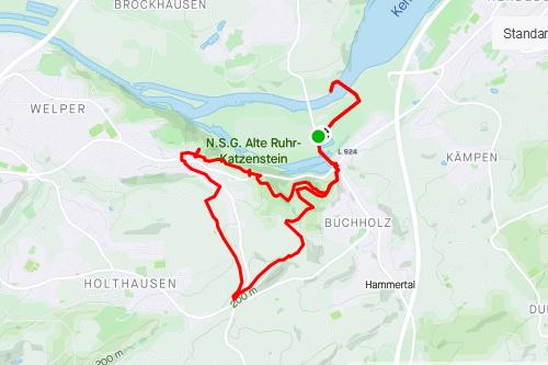 Wandern in Hattingen/Bochum