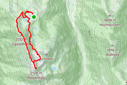 Reiteralm Höhenrundweg über Spiegelsee, mittelschwere Wanderung